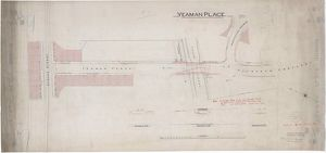 Plan and sections of the bridge over the Union Canal at Yeaman Place