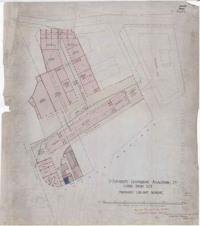 St Cuthberts Co-operative Association Ltd. Canal Basin Site, Proposed Layout Scheme